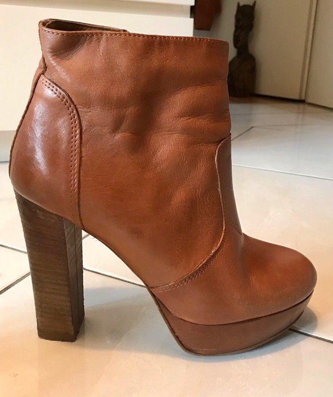 BULLBOXER Schnürschuh in beige nude Frauen Schuhe