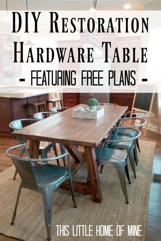 Create The Farmhouse Table Of Your Dreams. The FarmhouseFarmhouse  TableRestoration Hardware ...