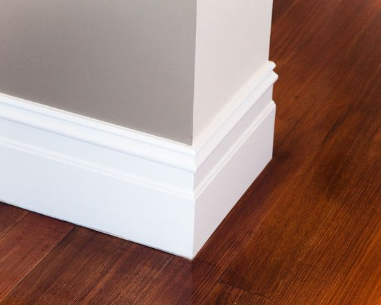 Baseboards Styles To Beautify Your Interior: Looks Great White Baseboards  Styles Modern For Your Home