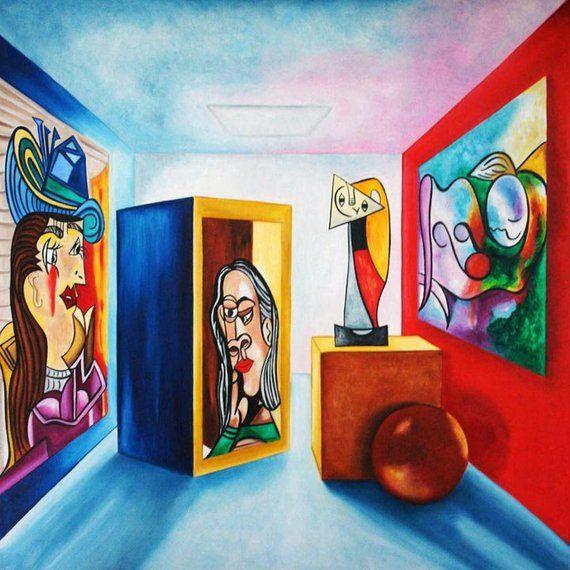 Art Print Picasso, Print, Wall Art Print, Pablo Picasso, Picasso ...