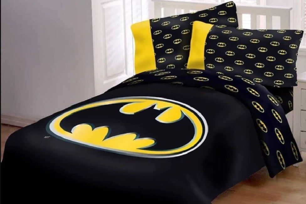 Details About Batman Guardian Speed Bed In A Bag Comforter
