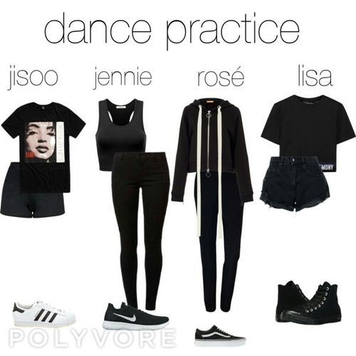 30df0f8d8ac5 dance practice #blackpink #kpop #outfits | Things to Wear in 2019 ...
