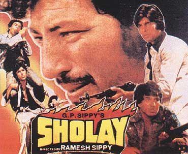S H O L A Y Bollywood Posters Hindi Film Movies