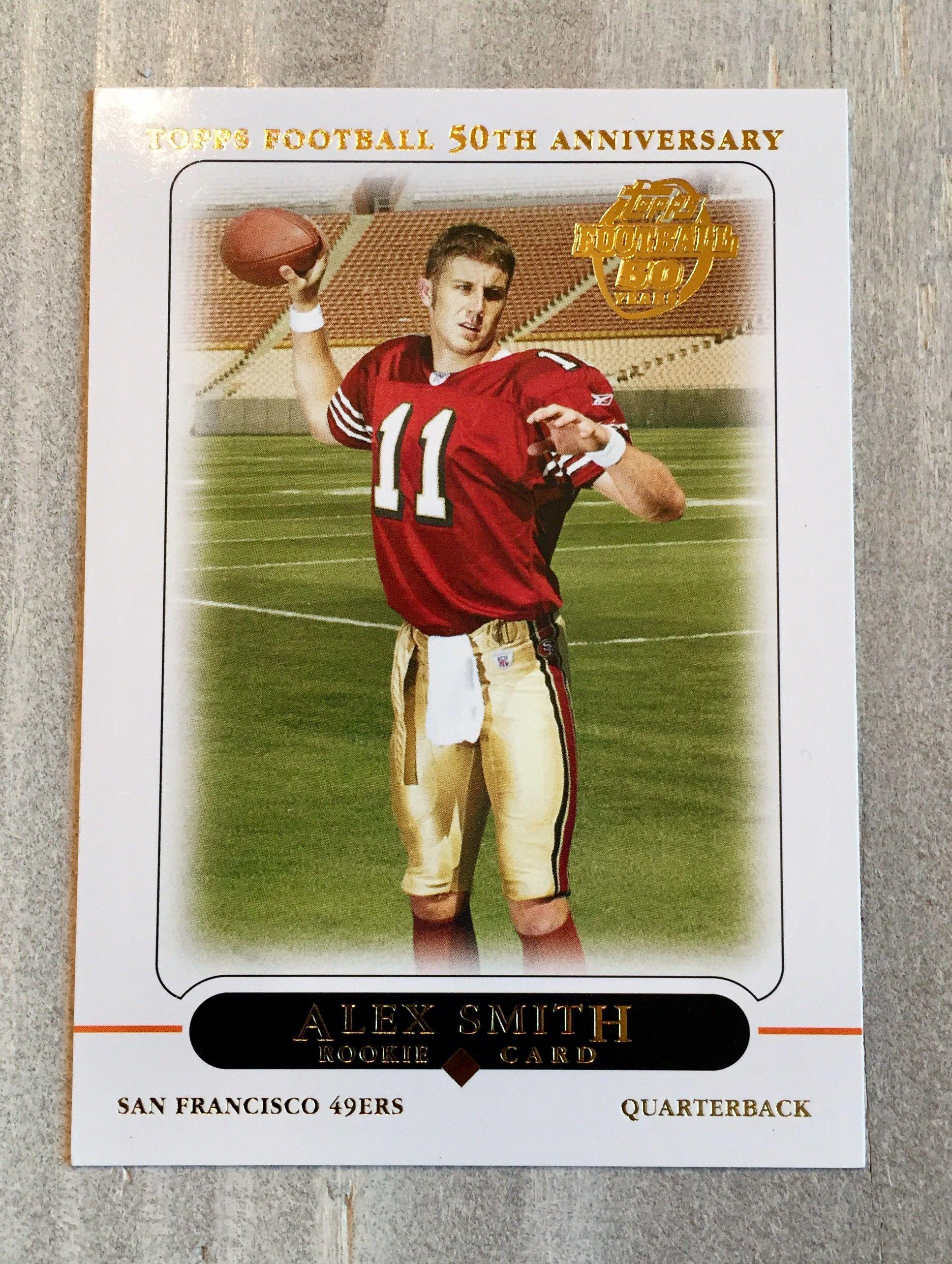 wholesale dealer c8b5d d404b Alex Smith Topps Rookie Card! TRUE Rookie - Kansas City ...