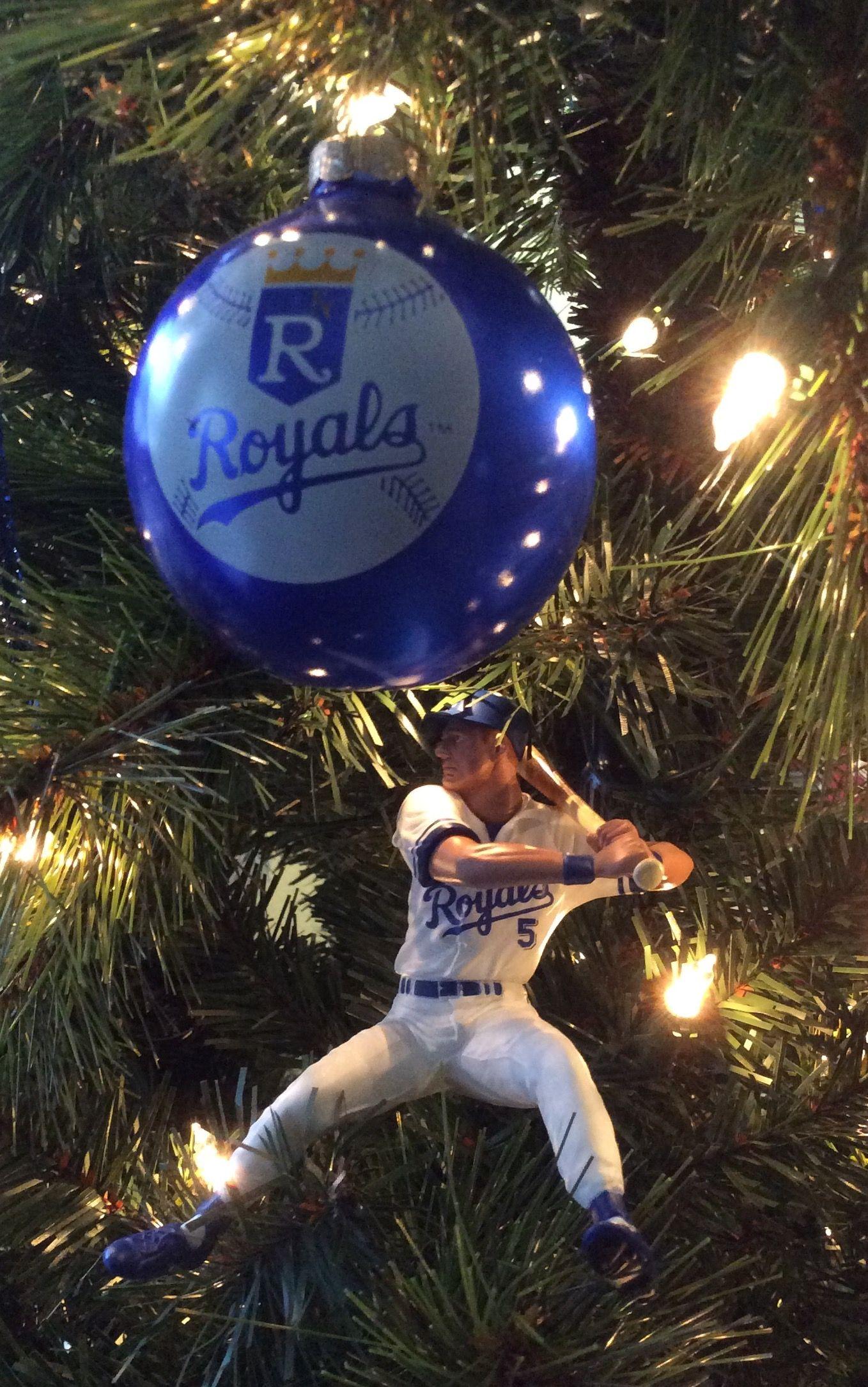 KC Royals ornament & George Brett ornament | Kansas City Royals