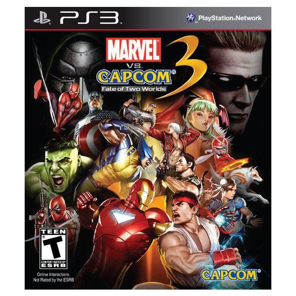 Marvel Vs Capcom 3 Ps3 Liked On Polyvore Featuring Games And Fillers Marvel Vs Capcom Marvel Vs Ultimate Marvel