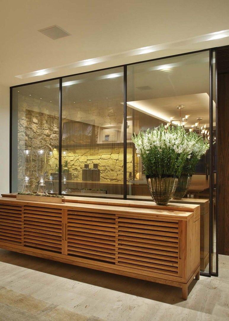 Projetos Residencial Bezamat Arquitetura Buffet Sala De Jantar