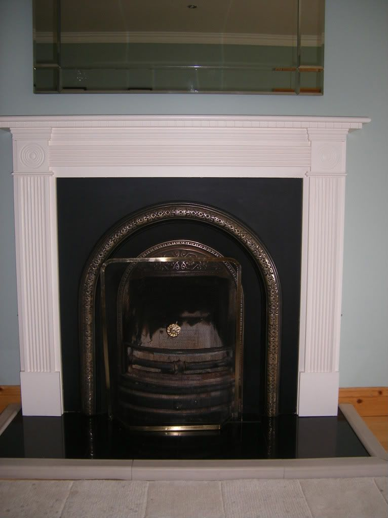 I Want To Repaint Our Horrible Brown Fake Wood Fireplace