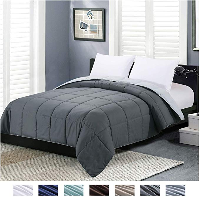 Amazon Com Homelike Moment Reversible Lightweight Comforter All