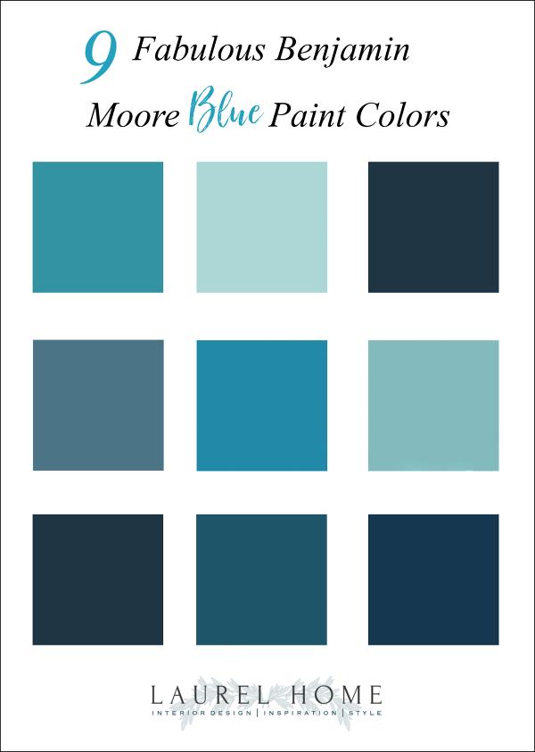 Nine Fabulous Benjamin Moore Blue Paint Colors Blue Paint Colors Benjamin Moore Blue Blue Paint