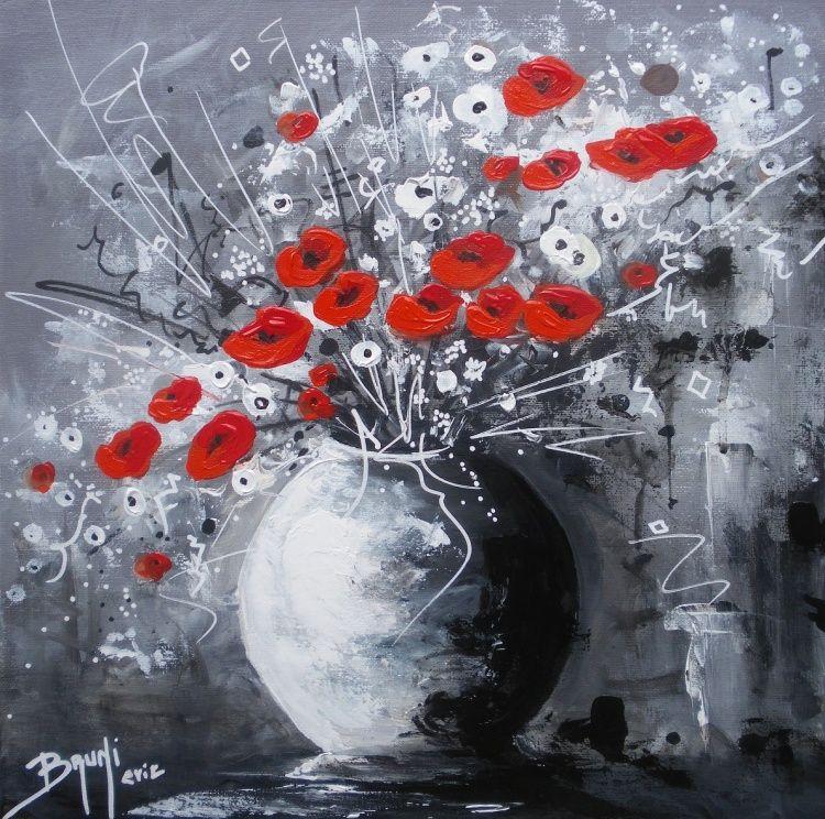 eric bruni   bruni   pinterest   peinture fleurs, fleur et peinture