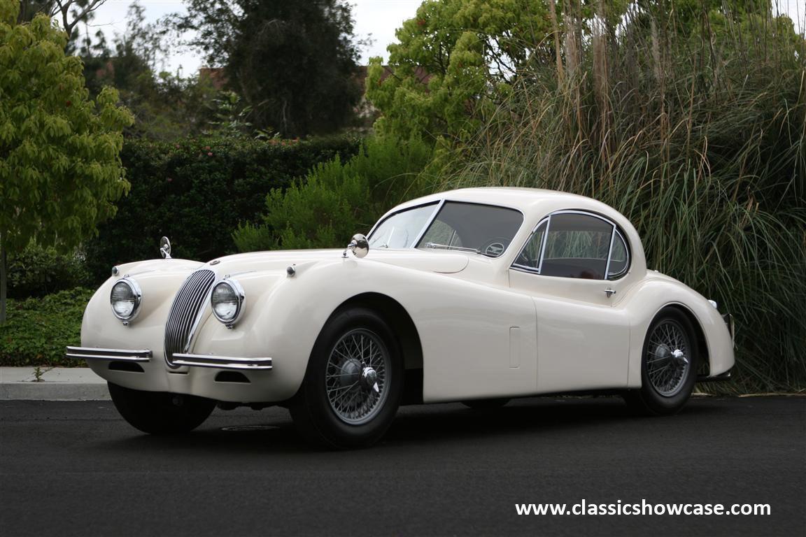1952 Jaguar Xk 120 Fhc By Classic Showcase Jaguar Xk Jaguar Retro Cars