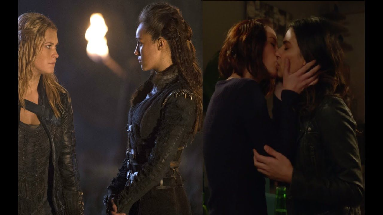 top lesbian couples on tv