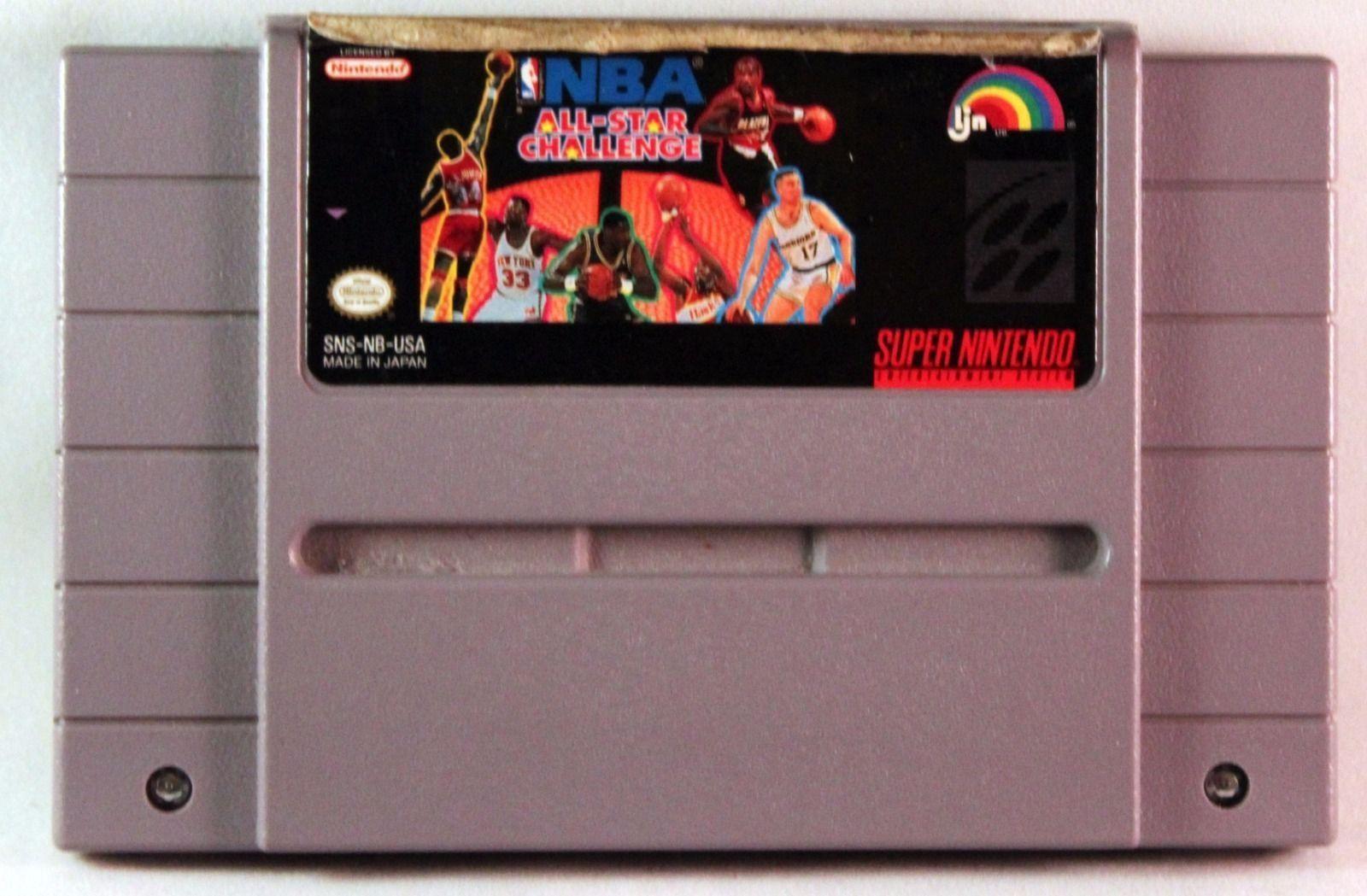 NBA All-Star Challenge (Nintendo SNES, 1992)