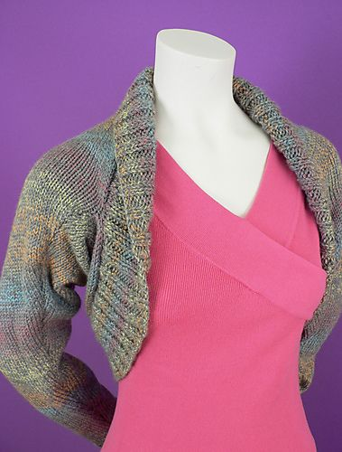 Ravelry: Simple Shrug (knitted) pattern by Caron ...