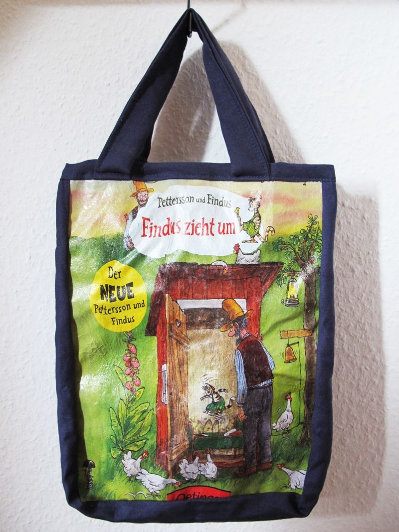 Tasche Plastiktte Upcycling Idee Recycling Diy Selbermachen Tote Bag Selber Nhen