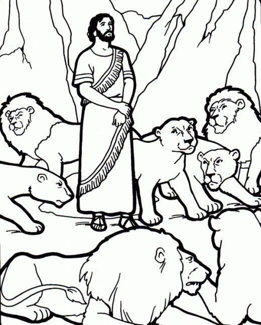 Animals In The Bible Printable Coloring Pages Daniel And The Lions Sunday School Coloring Pages Sunday School Crafts