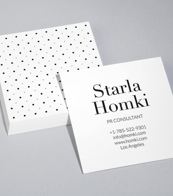 MOO Dot Luck Square Business Card Design Templates Artsy - Moo business card templates
