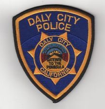 Daly City Police Department shoulder patch California