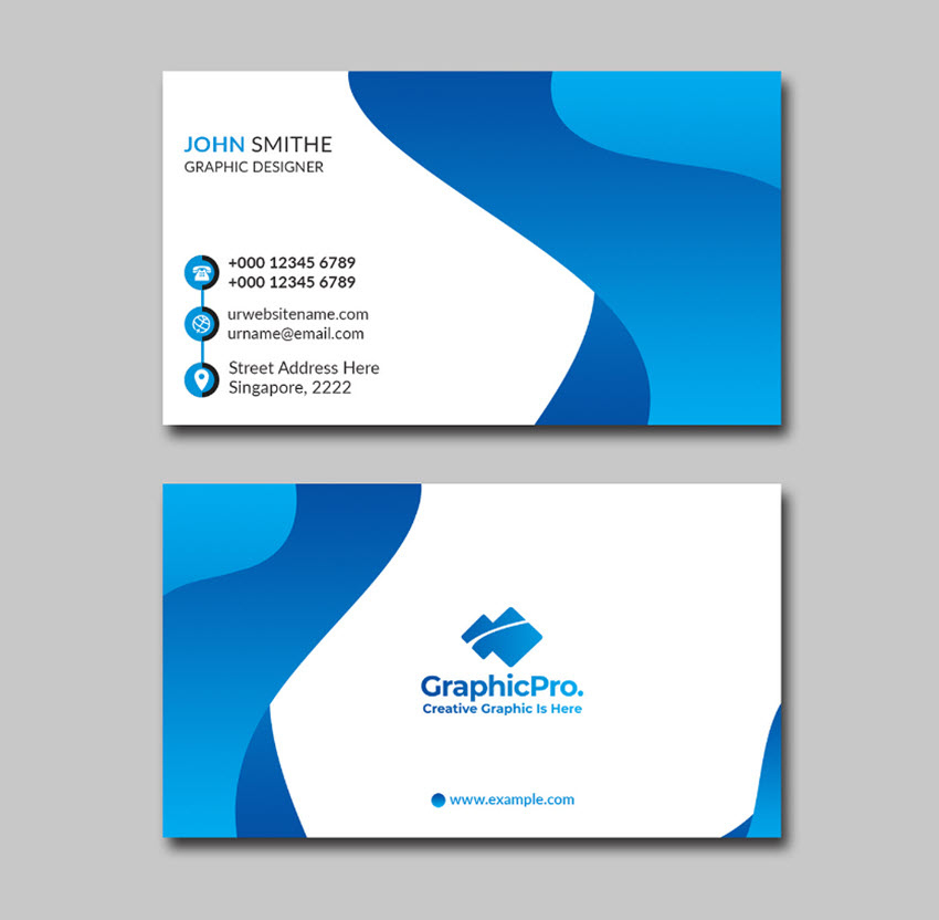 20 Best Adobe Illustrator Business Card Templates Free In Adobe Illus In 2021 Business Card Template Word Graphic Design Business Card Free Business Card Templates