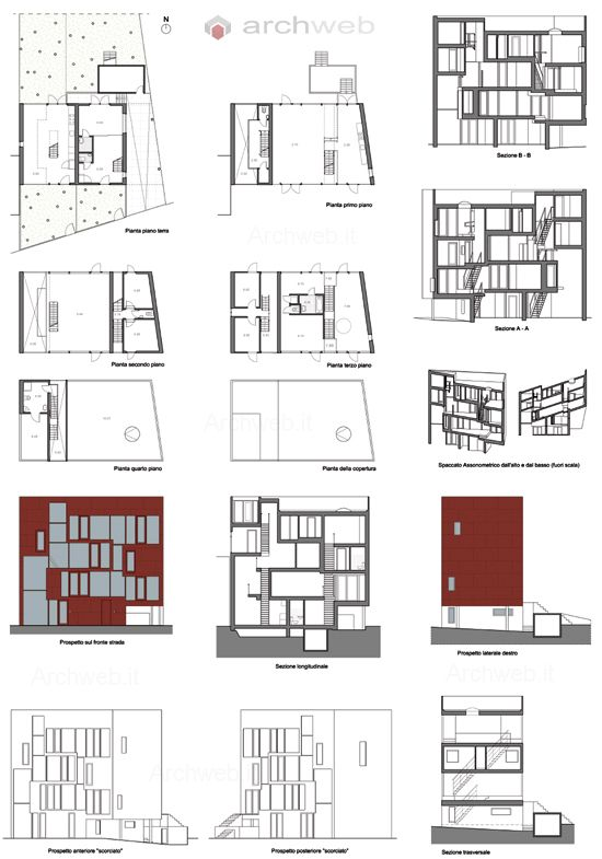 Double house mvrdv plans