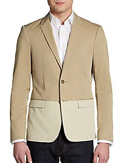 Michael Kors - Tonal Colorblock Sportcoat