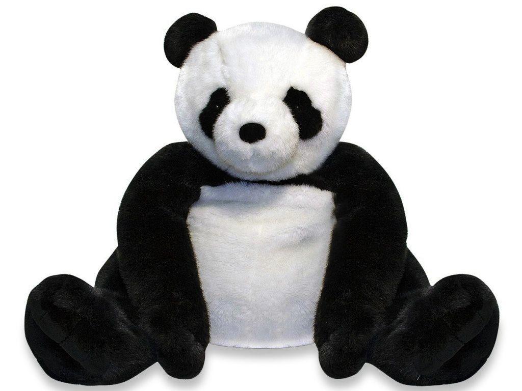 Melissa & Doug Giant Stuffed Panda - Plush Hub