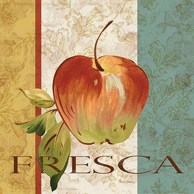 Pamela Gladding  Fruta Fresca I  12x12
