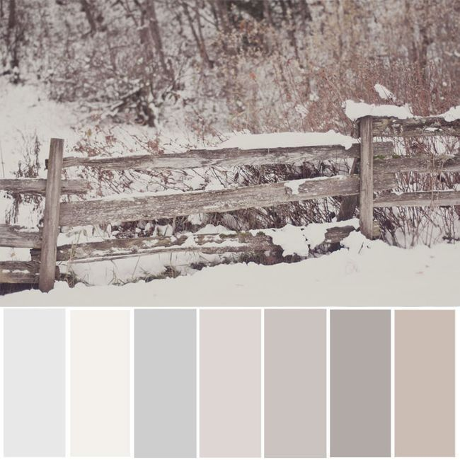 Try this neutral color palette for your whole house! Then experience winter  for real in the country. The country is closer than you think