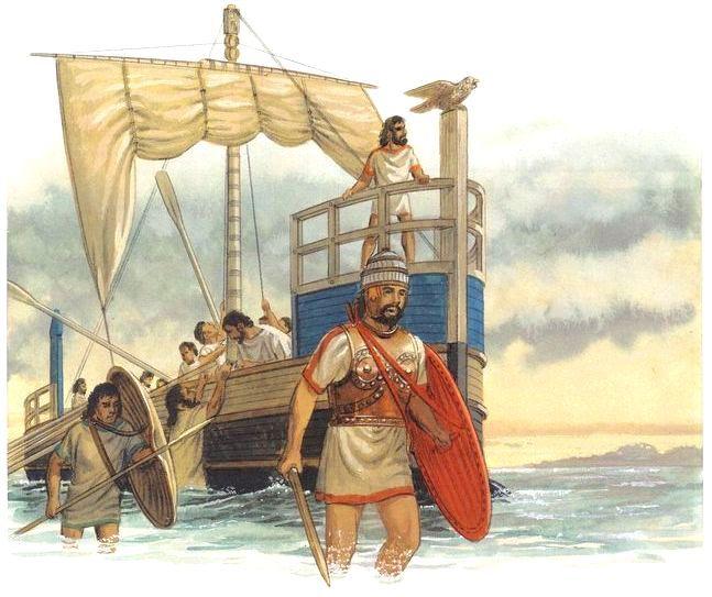 Warriors Legends Of Troy Part 1: Mycenaean Warriors Disembark Their War Ship.