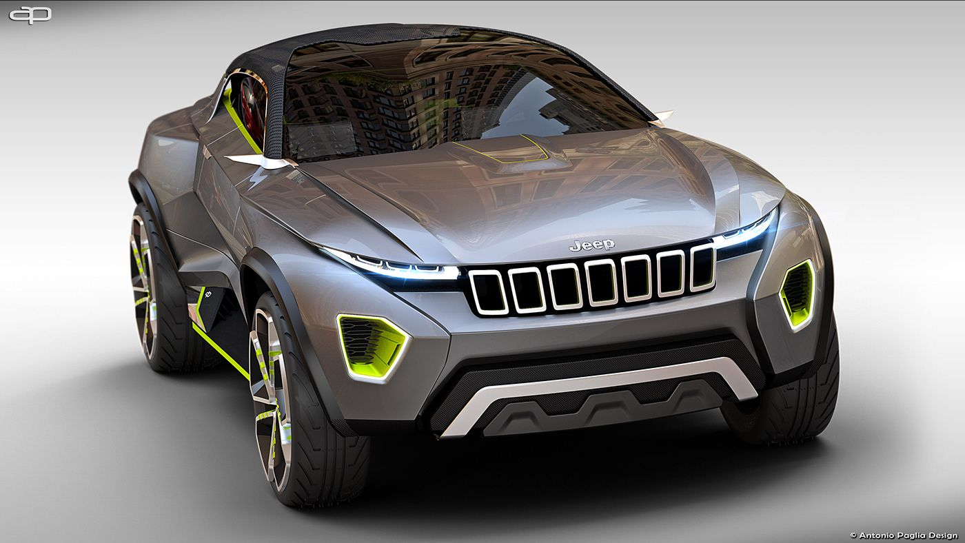 Jeep Concept Freedom Suv On Behance Jeep Concept Jeep Hummer Cars