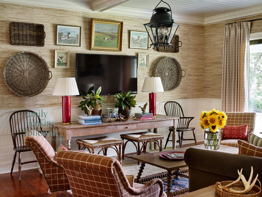 family room tv wall arrangement james farmer family on family picture wall ideas for living room furniture arrangements id=85066