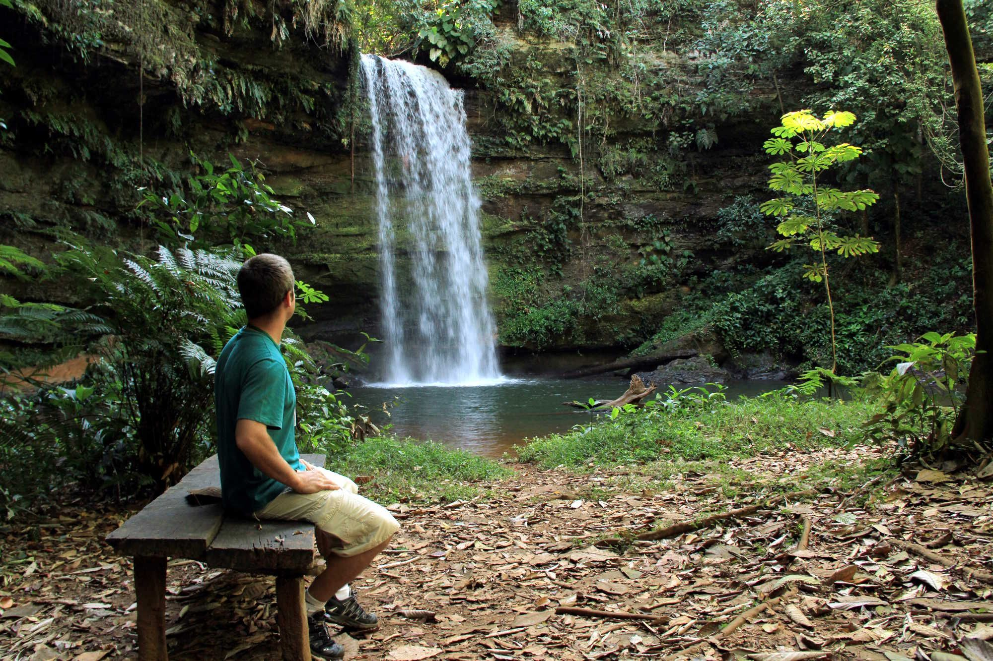Cachoeira em Taguaruçu - Tocantins.