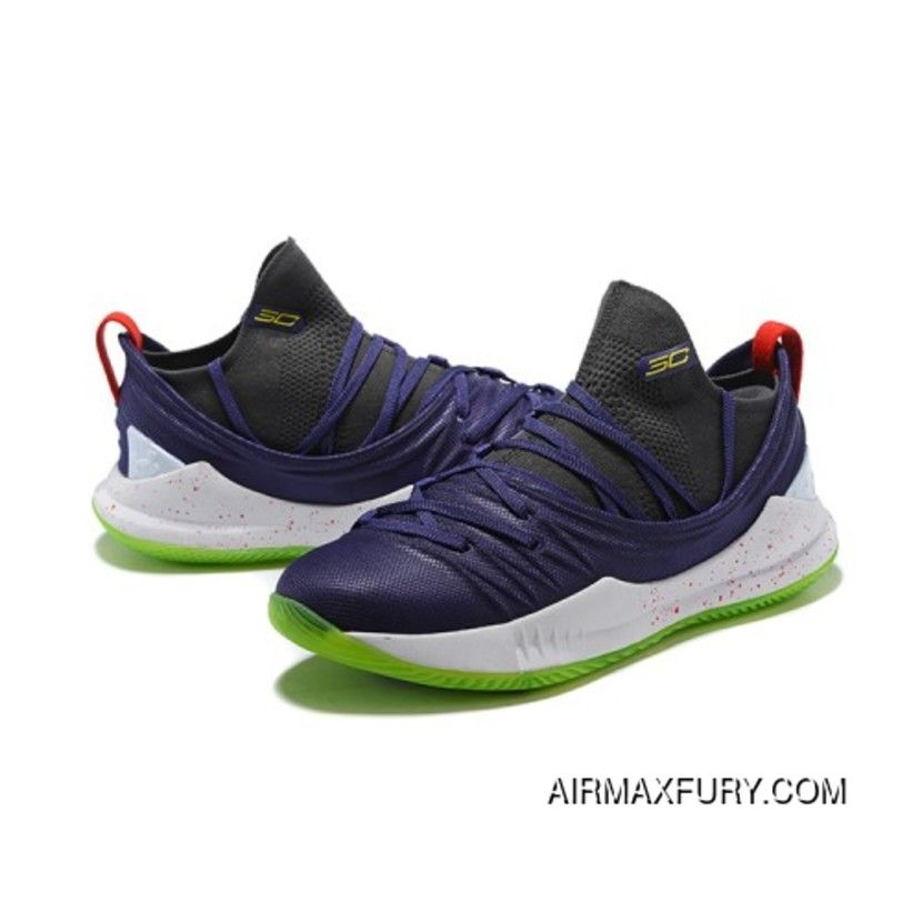 Under Armour Curry 5 Navy Blue