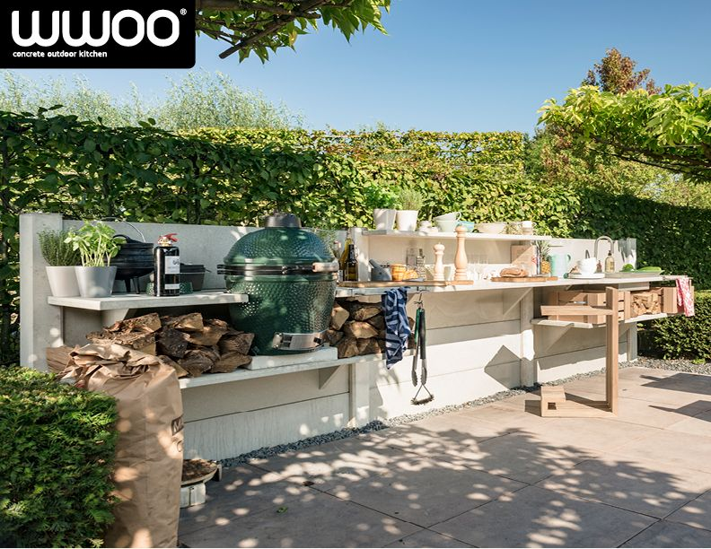 Sommerküche Garten : Wwoo outdoor kitchen www.wwoo.nl customize wwoo pinterest