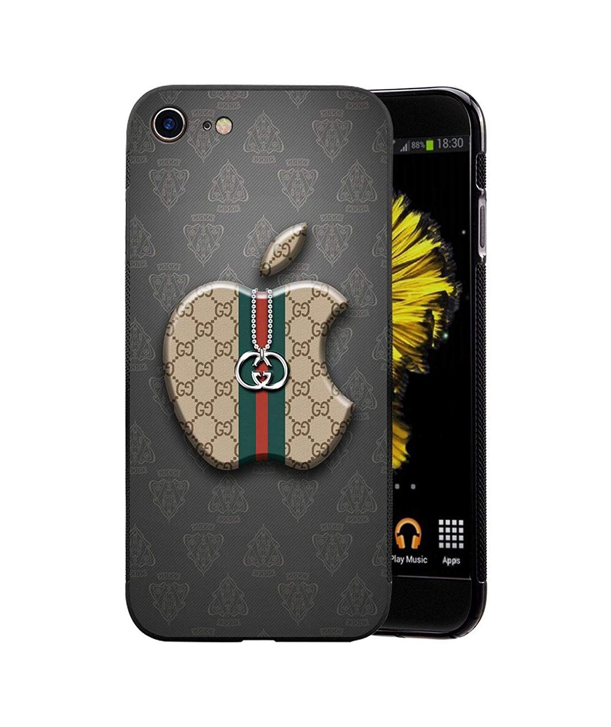 Coque iPhone 6/6S Plus, Hot Fashion Logo AppleGucci iPhone