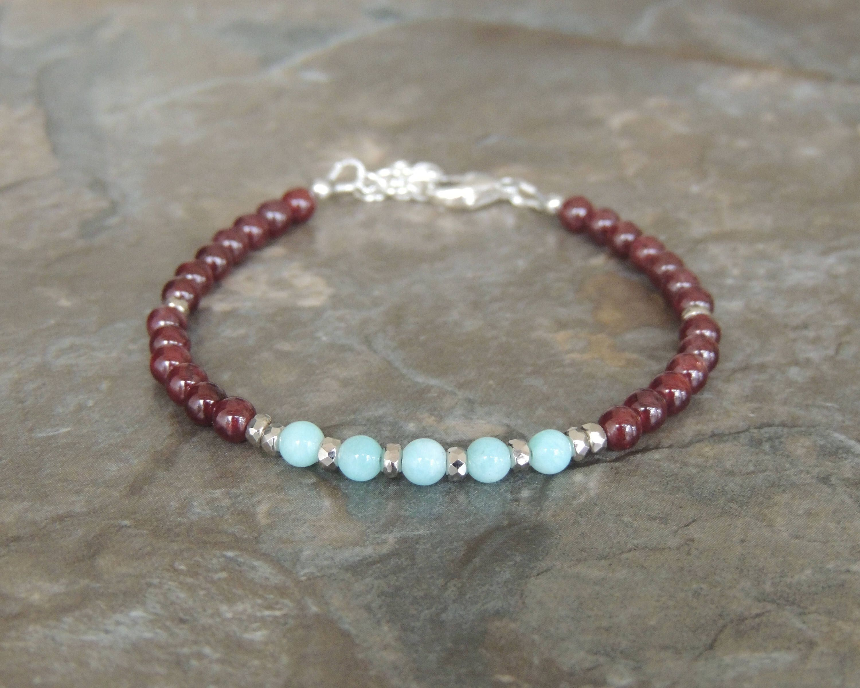 january red beautiful titelblad bracelet love florencejewelshop the gemstone of garnet a is