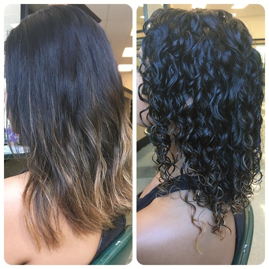 Goal Perm In 2020 Permed Hairstyles Short Permed Hair Long Hair Perm