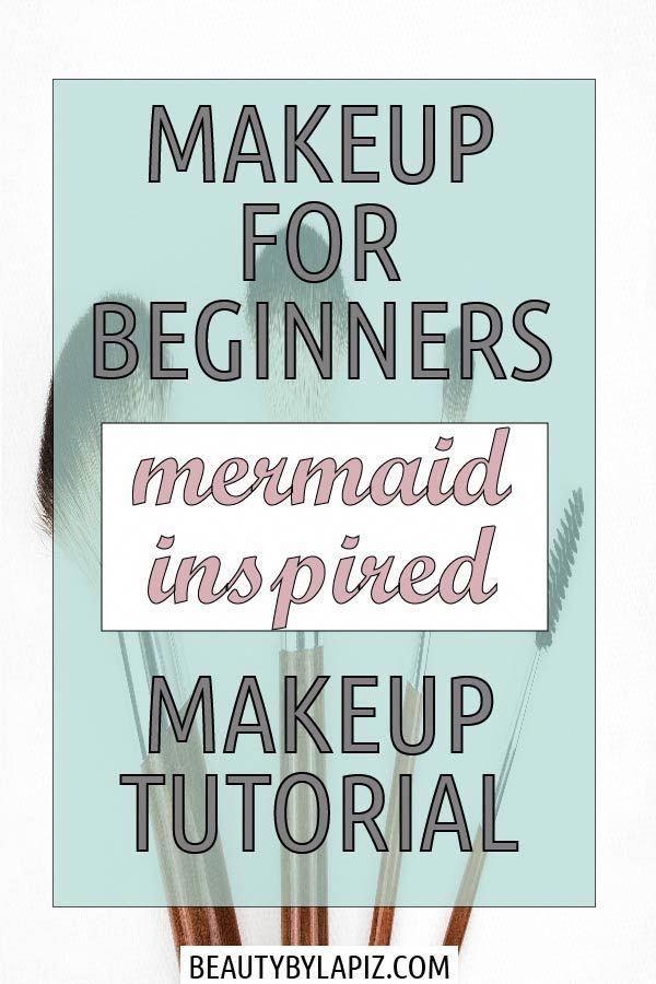 Photo of quick daily eye makeup  Makeup for beginners. Mermaid inspired makeup tutorial. …