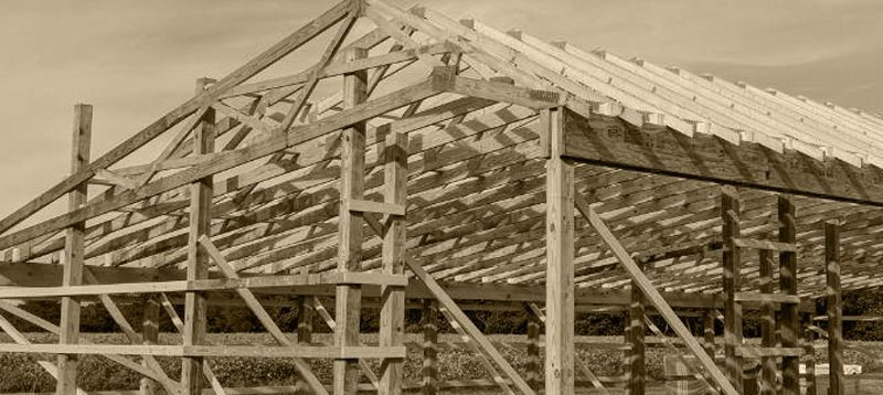 Best Roof Trusses And Pitch Changes Delmarva Pole Buildings 640 x 480