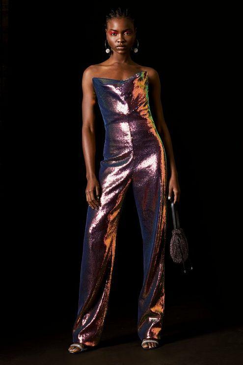 6c6259a38cb Hologram Sequin Jumpsuit by Topshop x Halpern in 2019