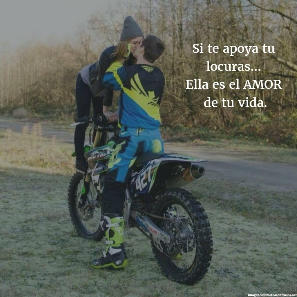 Imágenes De Motos Con Frases De Amor Motos Motos Amor Y