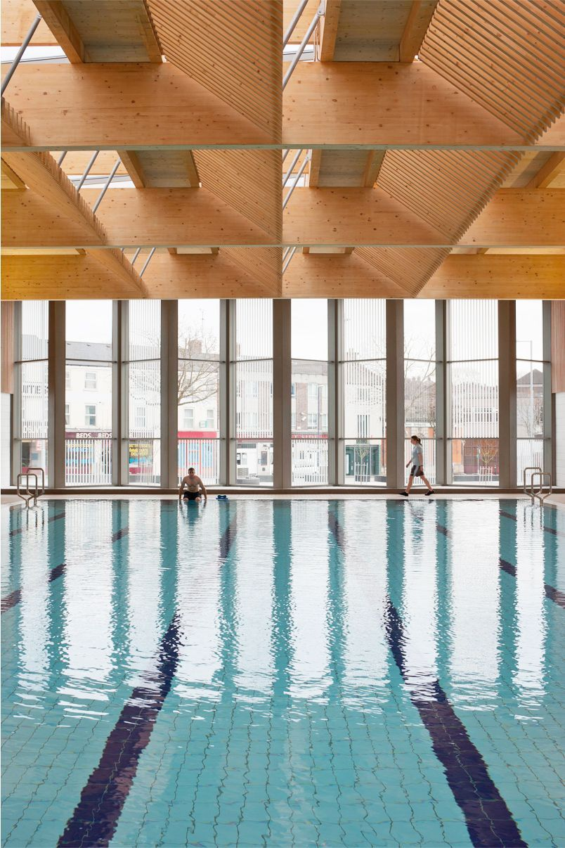Victoria leisure centre nottingham swimming pool and timber roof also gorgeous indoor design ideas for your home rh in pinterest