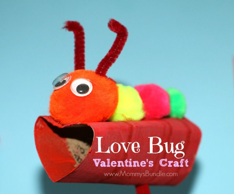 Love Bug ValentineS Craft  Clean Toilets Googly Eyes And Toilet