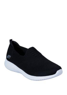 Skechers Ultra Flex Harmonious Slip On Shoes Skechers Black