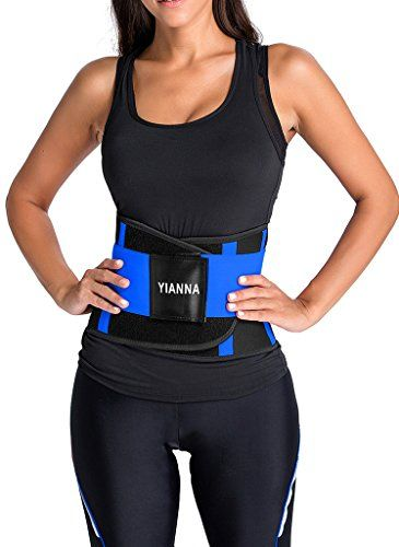 93efa85fb8d YIANNA Women Waist Trainer Tummy BeltBody Shaper Belt for Hourglass Shaper  Weight Loss YA8002Blue2XL Looking for the best fitted waist training belt  for ...