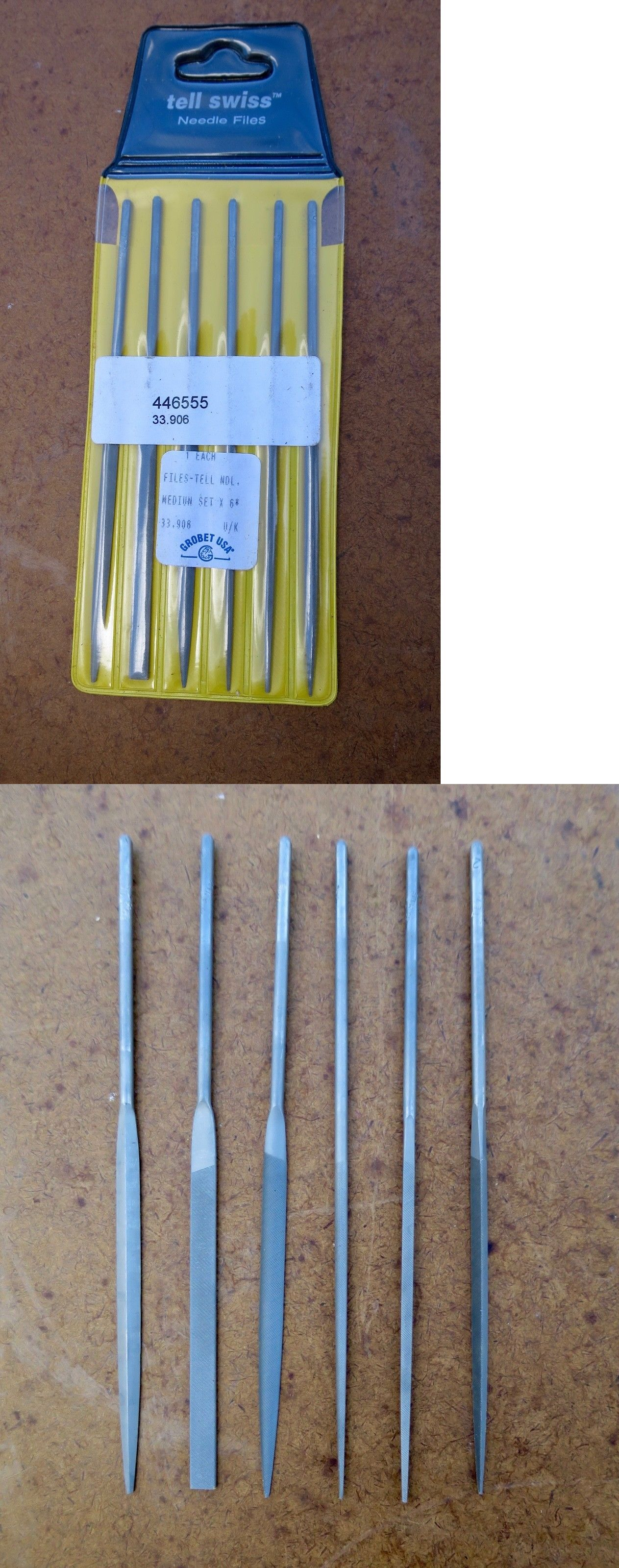Files 178974 5 5 Grobet Swiss Needle File Set Medium 6 Pc 33 906 New Buy It Now Only 14 On Ebay Files Grobet Swiss Needle File Needle Filing