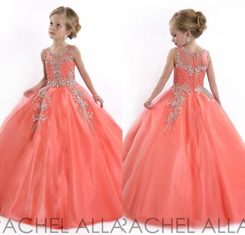 Pageant Glitz Dresses New 2016 Little Girls Pageant Dresses Princess ...
