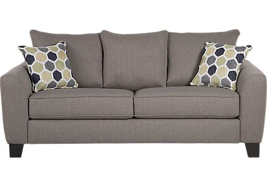 Bonita Springs Gray Sofa Sofa Gray Sofa Rooms To Go Furniture