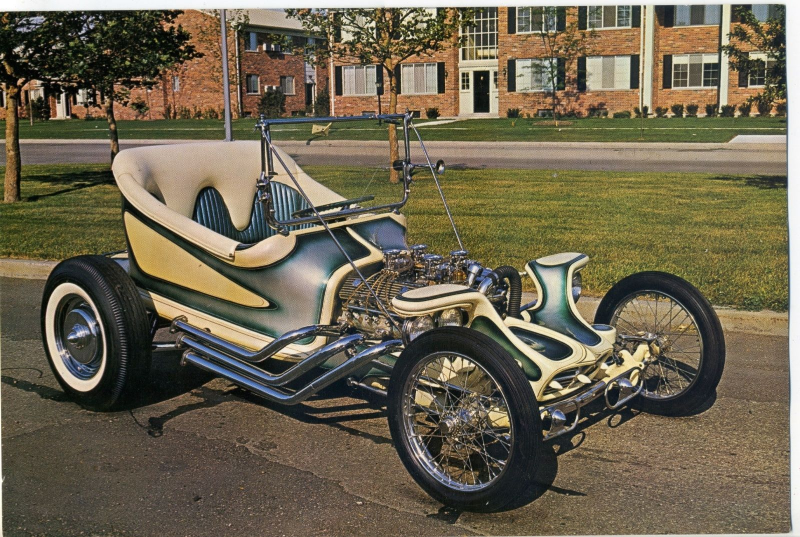 vtg original Ed Big Daddy Roth GIANT Post Card Revell Model Kit The ...